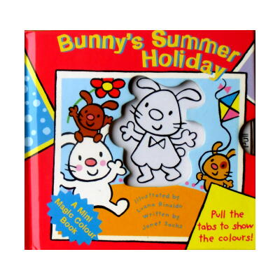 Bunny's Summer Holiday(A Mini Magic Colour Book)