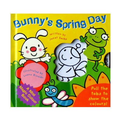 Bunny's Spring Day (A Mini Magic Colour Book)