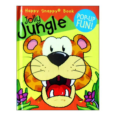 Jolly Jungle POP-UP FUN! (Happy Snappy Book)