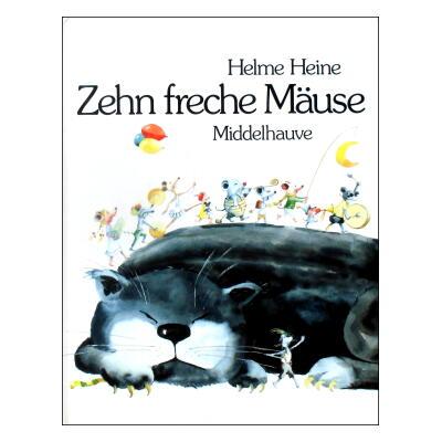 Zehn Freche Mause(FOSSETTE38) [10匹のいたずらねずみ/ドイツ・ドイツ語(丸善フォセット38)]