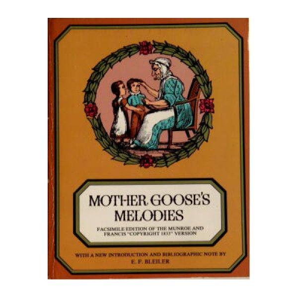 画像1: MOTHER GOOSE'S MELODIES ★1833年クラシック絵本復刻版・マザーグース★ (1)
