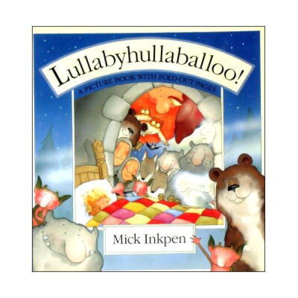 画像1: Lullabyhullaballoo! A PICTUREBOOK WITH FOLD・OUT PAGES ★ミック インクペン★めくりしかけ絵本 (1)