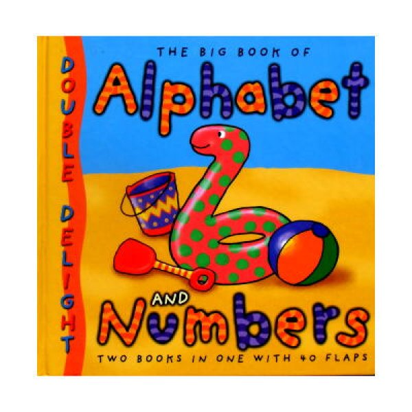 The Big Book of Alphabet and Numbers ★アルファベットと20までのかず めくりしかけ絵本★
