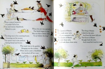 画像2: OVER THE MOON A Book of NURSERY RHYMES ★シャーロット・ヴォーク★1989年