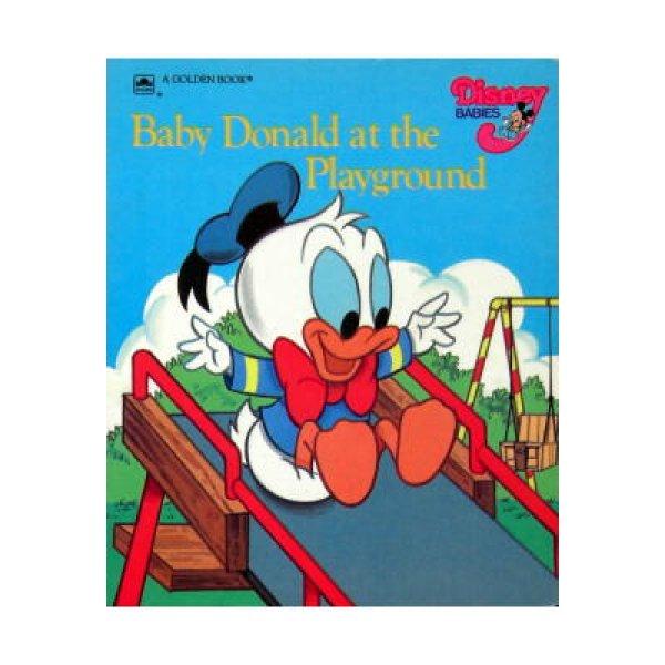 画像1: Baby Donald at the Playground Disney BABIES A GOLDEN BOOK ★1986年版ベビーディズニー★ (1)