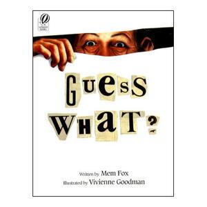 【洋書絵本】ハロウィン🎃におすすめ!びっくりするようなリアルな絵の魔女絵本「Guess What?」ビビアン・グッドマン絵