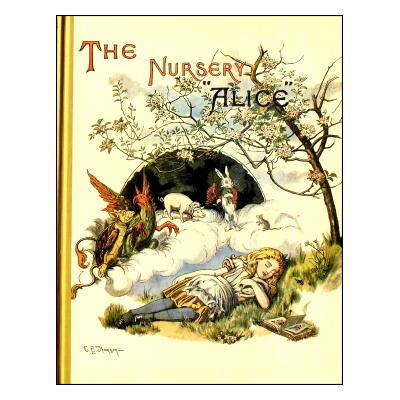 """【洋書絵本】ジョン・テニエル画「The Nursery """"Alice""""」"""