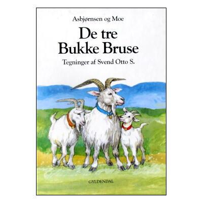 【洋書絵本】デンマーク語絵本「De tre Bukke Bruse」スベン・オットー・絵