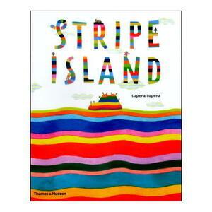 【新品アウトレット洋書絵本】 tupera tupera(ツペラツペラ)「しましまじま」イギリス(英語)版「Stripe Island」