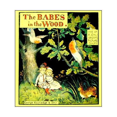 【洋書絵本】Randolph Caldecott's Picture Books「The BABES in the Wood」コールデコットの絵本