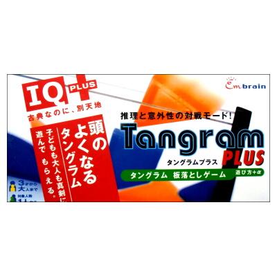 タングラムプラス Tangram PLUS (パズル+板落としゲーム・エンブレインIQプラスシリーズ)