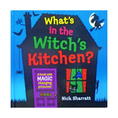 What's in the Witch's Kitchen? (まじょのキッチン・めくりしかけえほん)