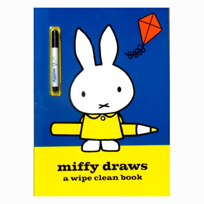miffy draws a wipe clean book (ミッフィーのペン付き)