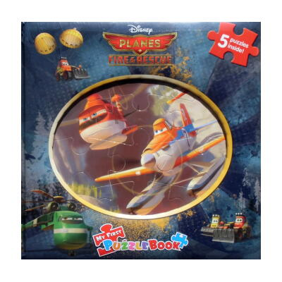 isney PLANES FIRE & RESCUE MY FIRST PUZZLEBOOK(ディズニー プレーンズ2・ファイヤー&レスキュー はじめてのパズルブック)