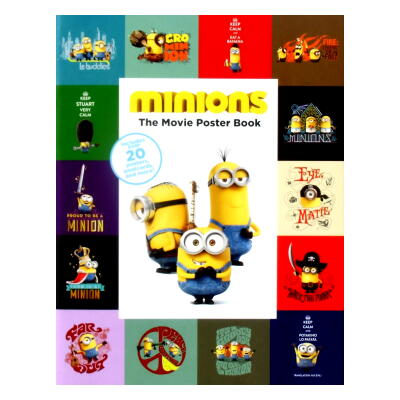 minions The Movie Poster Book(ミニオンズ)