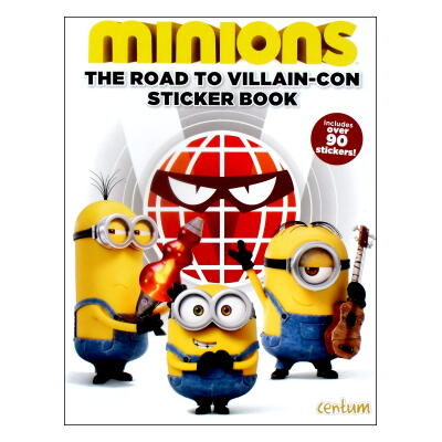 minions The Road to Villain-Con Sticker Book (ミニオンズ)