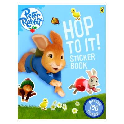 Peter Rabbit(TV series) HOP TO IT! STICKER BOOK ピーターラビットのだいぼうけんステッカーブック