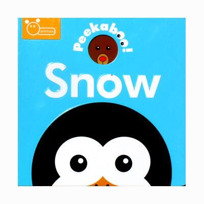 Peekaboo! Snow