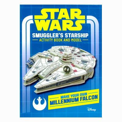 STAR WARS Smuggler's Starshp Activty Book and Model: Make Your Own Millennium Falcon